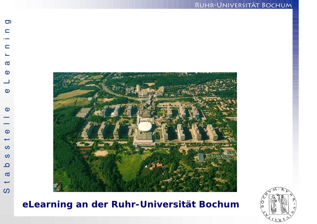 e L e a r n i n g S t a b s s t e l l e                                  Ruhr-Universität Bochum                          ...