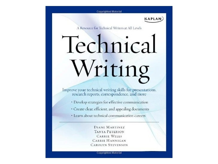 Technical authors