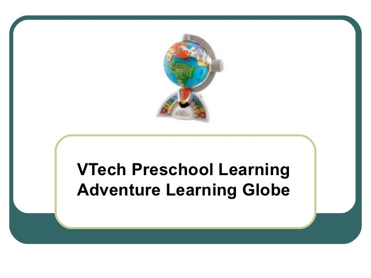 VTech Preschool Learning Adventure Learning Globe