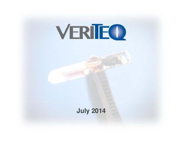 VTEQ Presentation july 2014