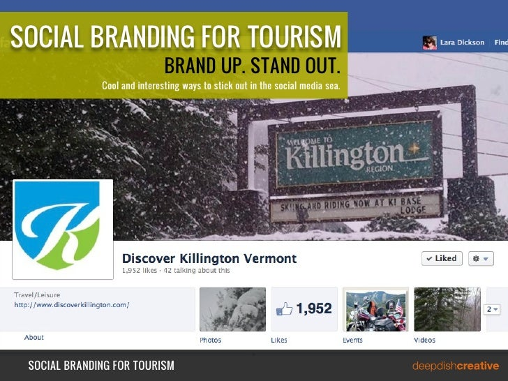 SOCIAL BRANDING FOR TOURISM                              BRAND UP. STAND OUT.              Cool and interesting ways to st...
