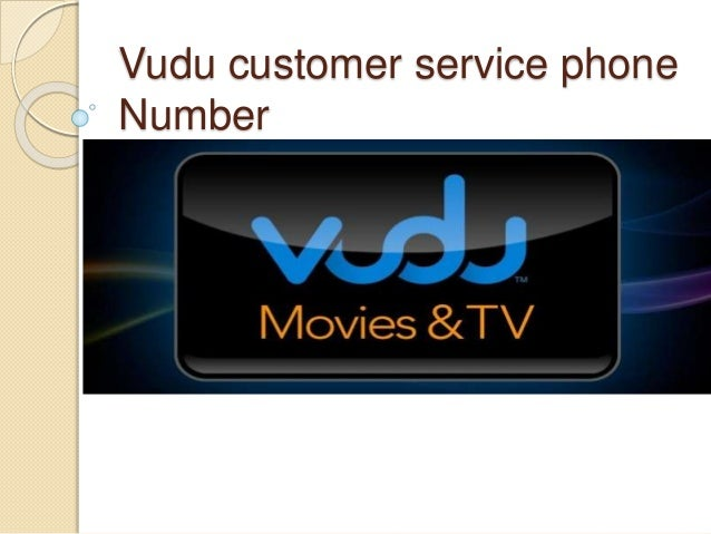 Vudu customer service phone number