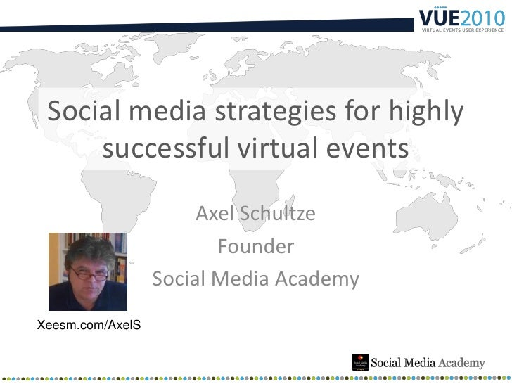 Social Media Strategies for highly sucessful Virtual Events