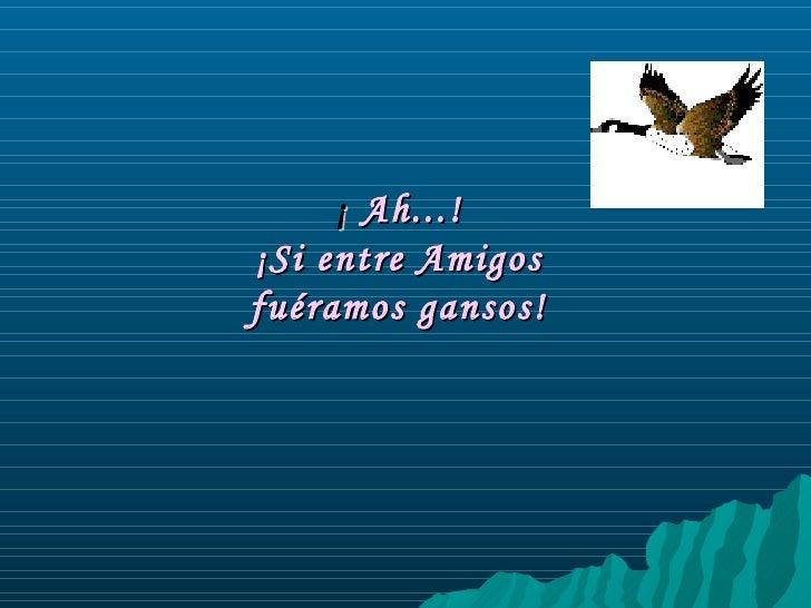 vuelo de gansos
