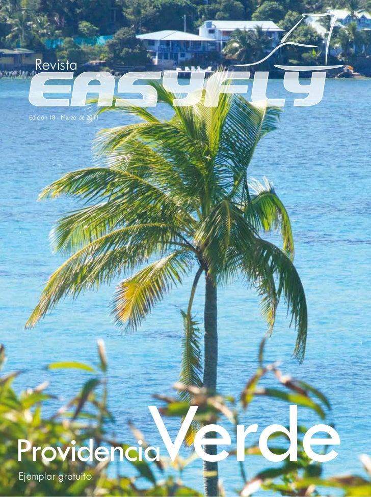 Revista  Edición 18 - Marzo de 2011ProvidenciaEjemplar gratuito                               Verde