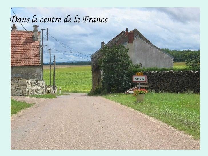 Dans le centre de la France