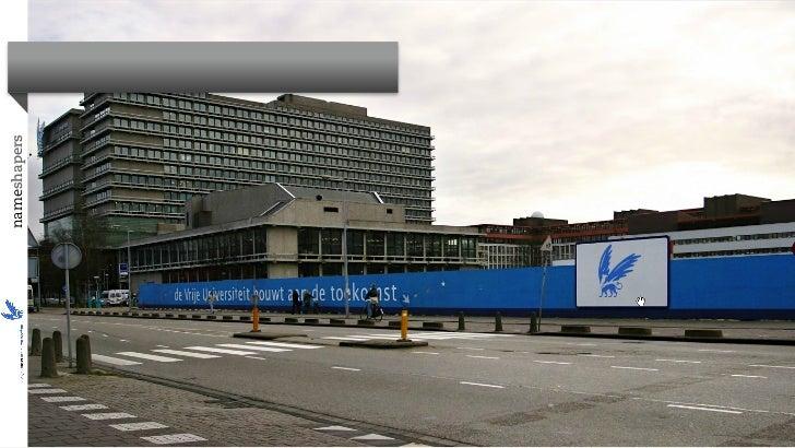 VU IDEEweek - Starten met social media (door Oliver de Leeuw van Nameshapers) - 20-08-2012
