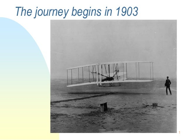 The journey begins in 1903                             1