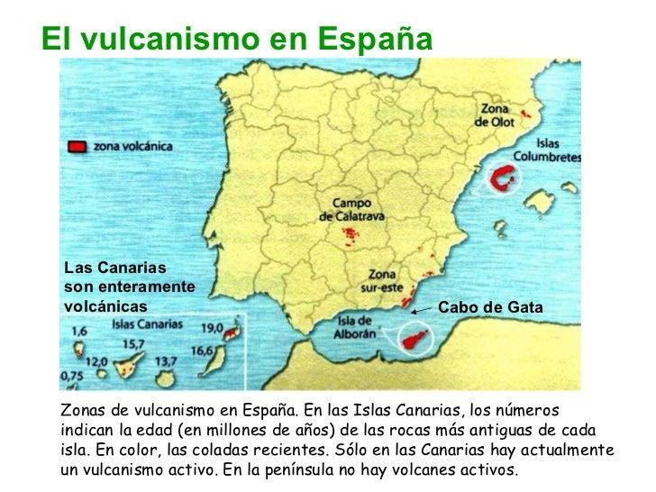 Vulcanismo en España