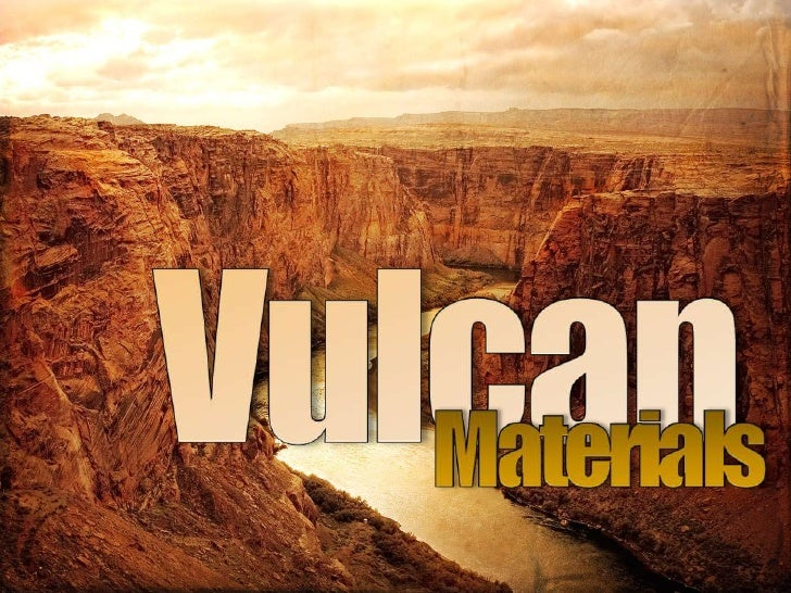 Vulcan<br />Materials<br />