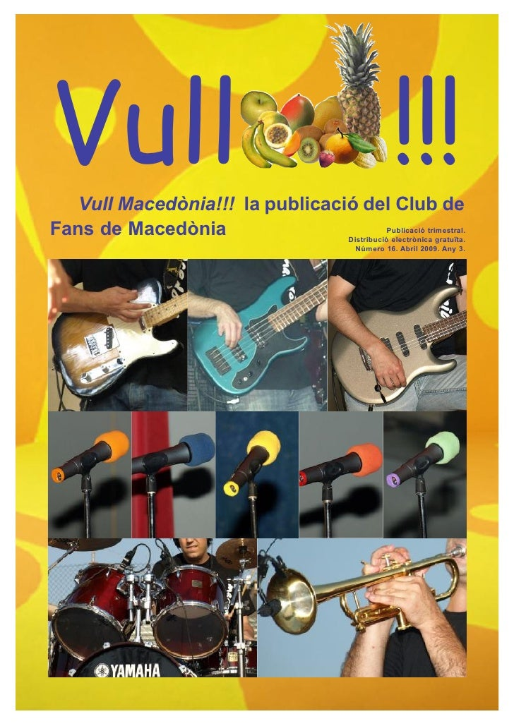 Vull   Vull Macedònia!!! la publicació del Club de                                                         !!!Fans de Mace...