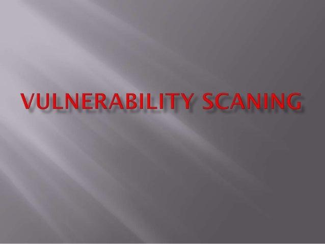 Vulnerability scaning keamanan jaringan