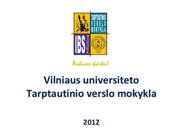 VU TVM moksleiviams