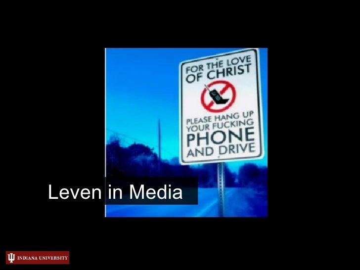 Leven in Media