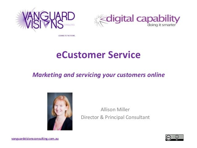 e-Customer Service - Marketing & Servicing your Education & Training Customers Online