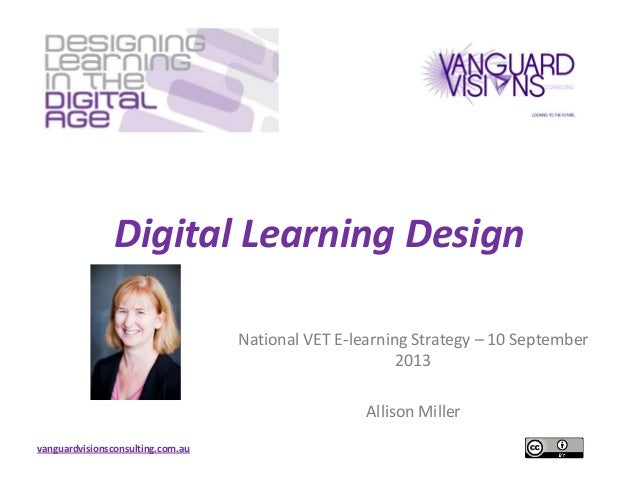 Digital Learning Design 100913