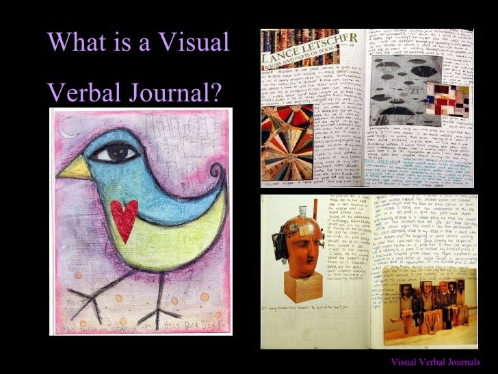 Creating  a Visual Verbal Journal!