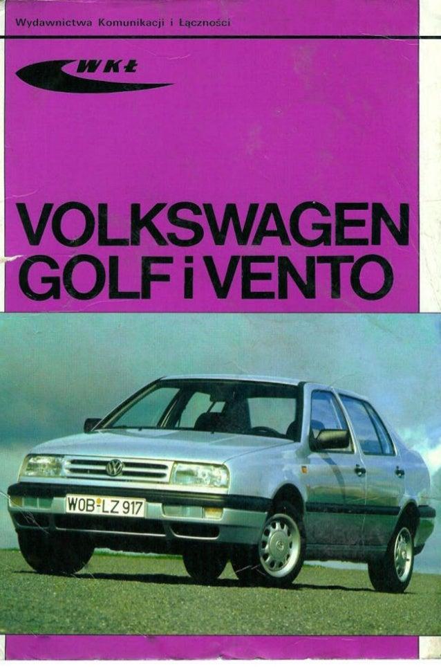 Vw golf3,-vento---manual