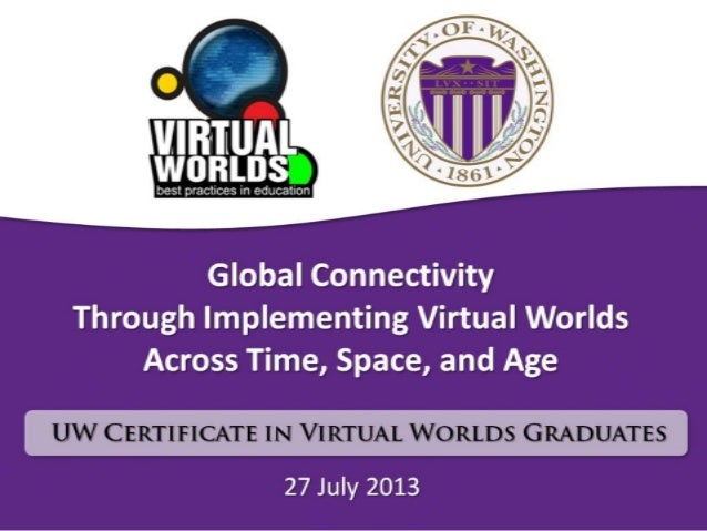 Global Connectivity Through Implementing Virtual Worlds Across Time, Space, and Age