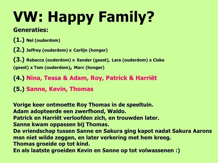 Vw happy family