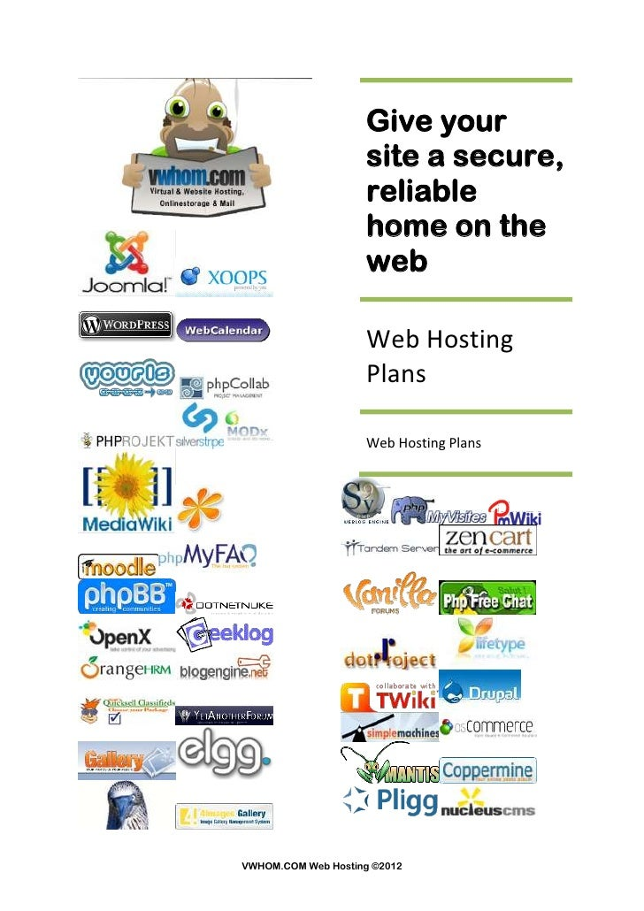 Give your                    site a secure,                    reliable                    home on the                    ...