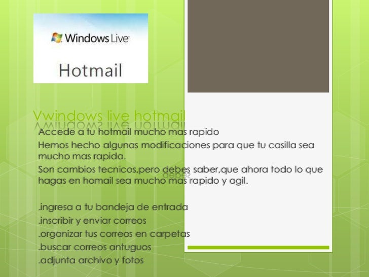 Windows Live Hotmail!