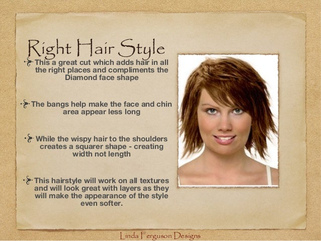haircuts for round faces women wavy hair