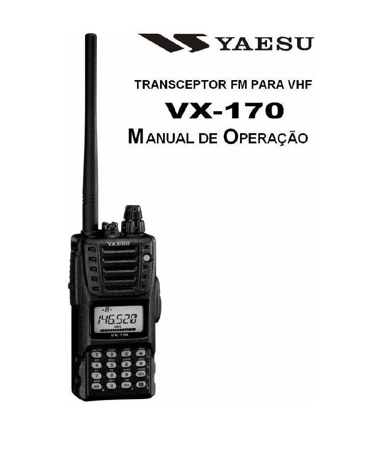 Vx 170 portugues