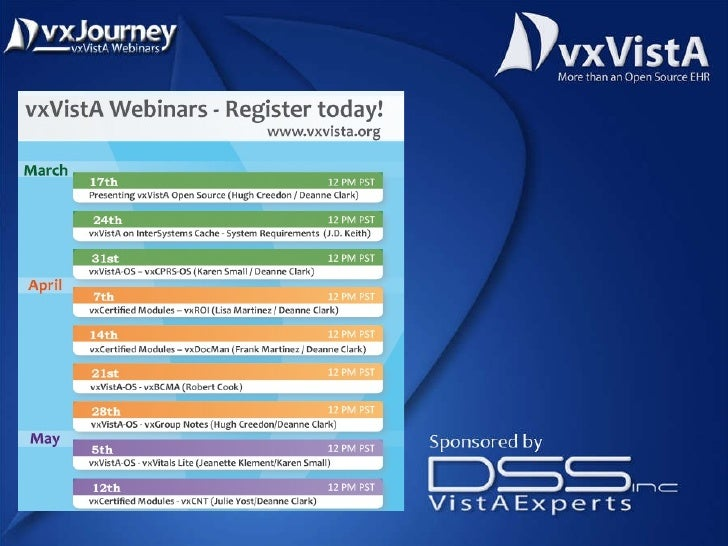 vxJourney#1 - Introducing vxVistA.org