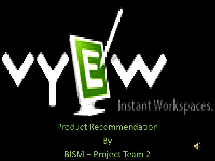 Product Recommendation<br />By<br />BISM – Project Team 2<br />