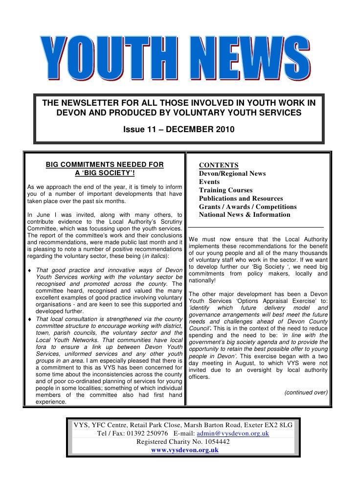 VYS Devon News December