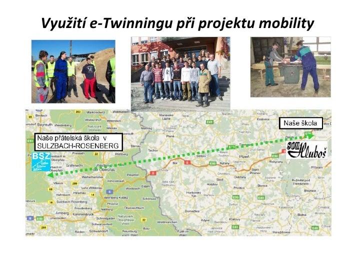 Využití e twinningu při projektu mobility