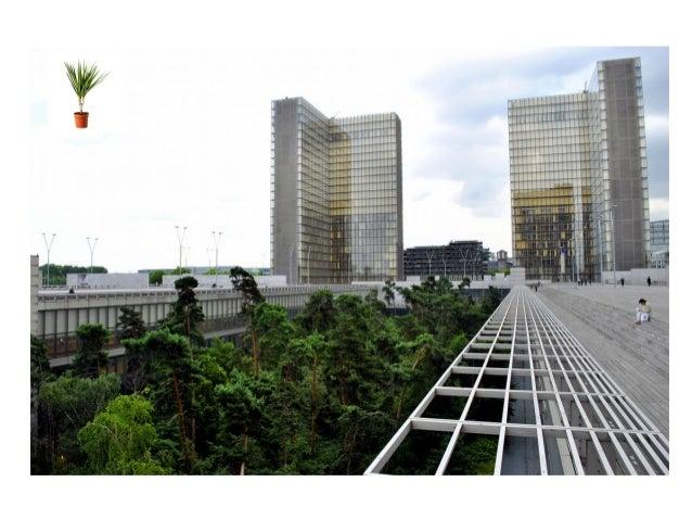 BM de Grenoble, bibliothèque centre ville : terrasse-potager 1. La nature, facteur de bien-être 2. Le jardin, créateur de...