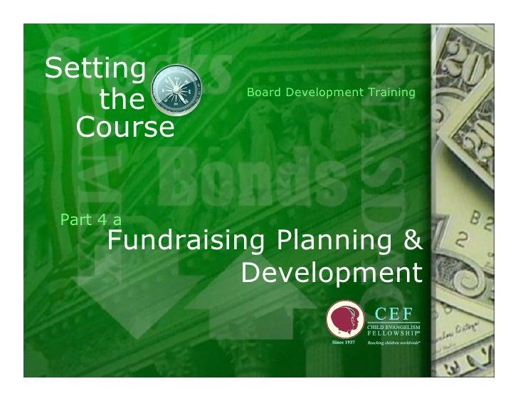 W E B Committee Training Part 4