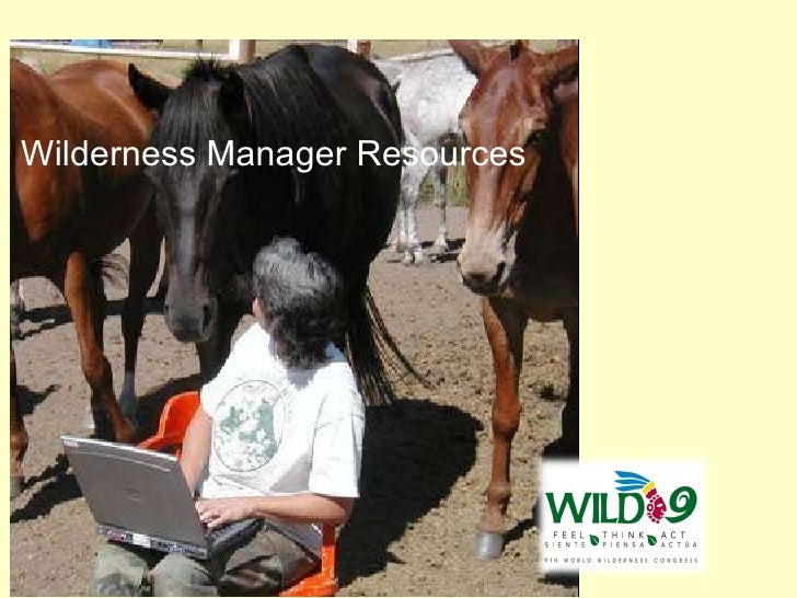 An overview of wilderness management resources