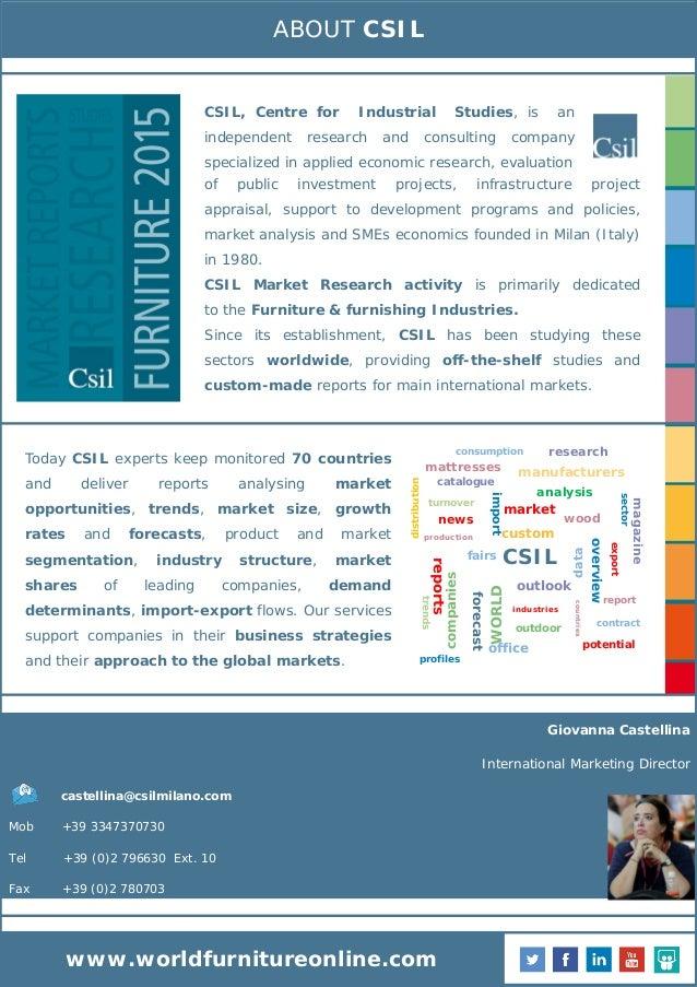 The Furniture Industry in the Gulf Countries: Saudi Arabia ...