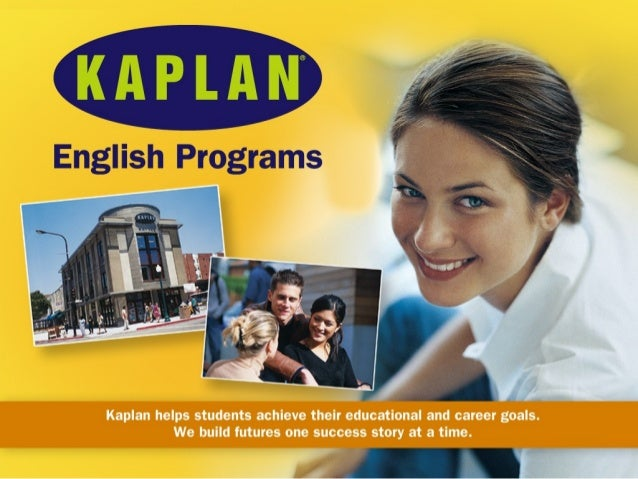 Presenters Kaplan English Programs, at Highline Community College Chadd Bennett: Program Manager Jon Dietzen: Center Manag...