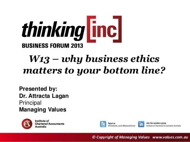 Why Business Ethics Matters to Your Bottom Line