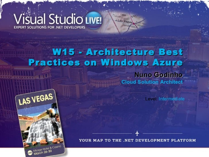 Architecture Best Practices on Windows Azure