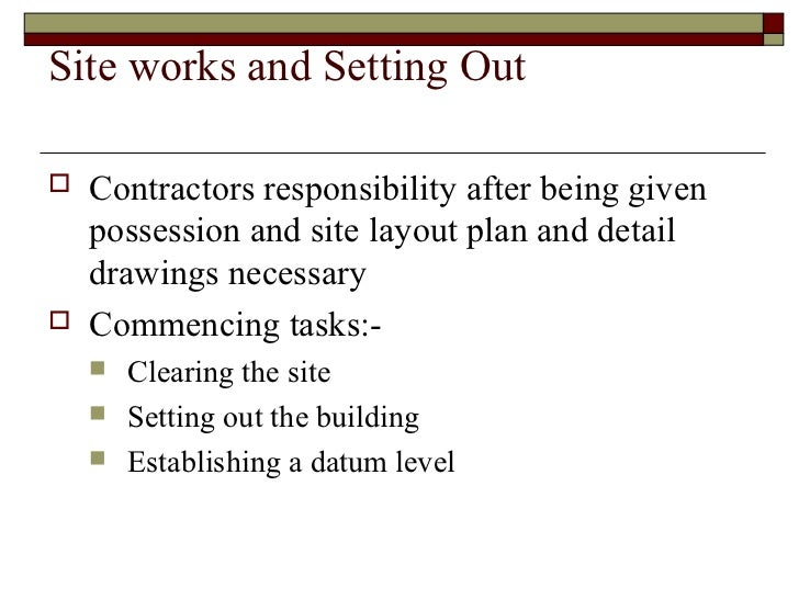 Essay on safety at construction site