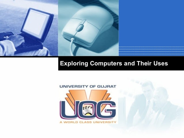 Exploring Computers and Their Uses  Company  LOGO