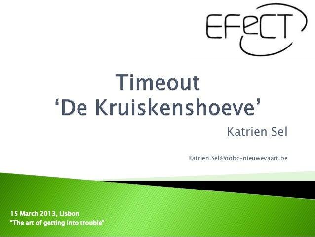 EFeCT Conference W1 Katrien Sel