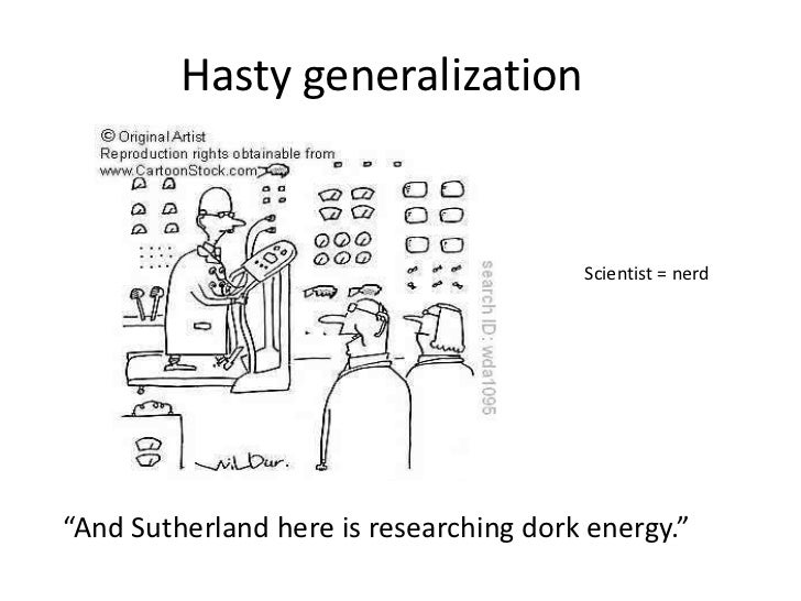 Definition And Examples Of Hasty Generalizations 5326172