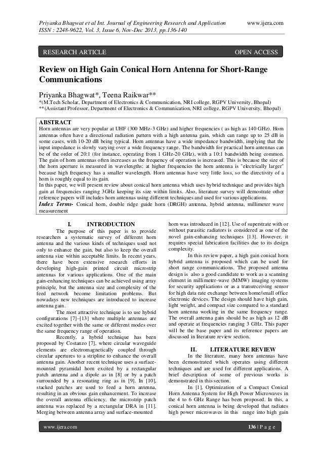 Priyanka Bhagwat et al Int. Journal of Engineering Research and Application ISSN : 2248-9622, Vol. 3, Issue 6, Nov-Dec 201...