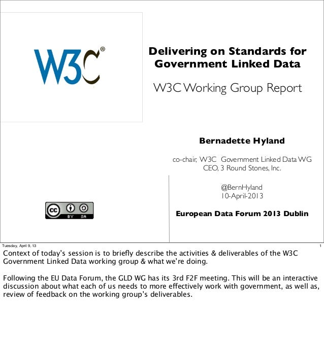 Delivering on Standards for                                            Government Linked Data                             ...