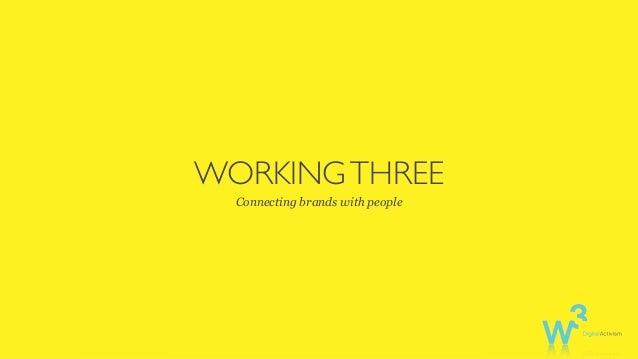 Working Three - Customer Experience