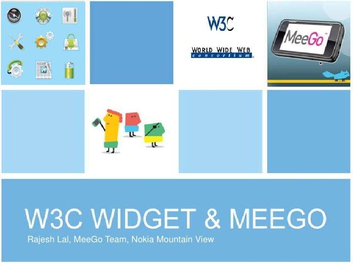 Rajesh Lal, MeeGo Team, Nokia Mountain View<br />