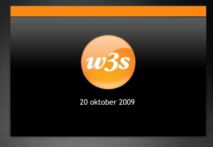 splash 20 oktober 2009