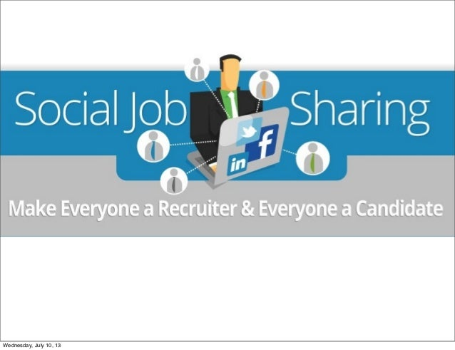 Social Job Sharing Infographic