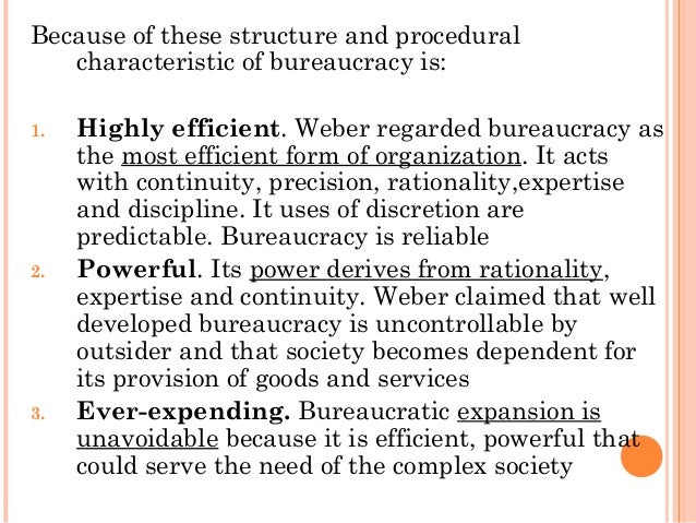 efficient administration essay